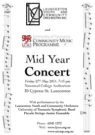 LYCO 2011-05-27 Mid Year Concert - Poster  - LYCO