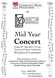 LYCO 2011-05-27 Mid Year Concert - Poster - UTCMP