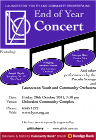 LYCO 2011-10-28 End of Year Concert - Poster